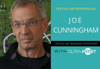 Quilt Artist - Joe Cunningham| Writing Books | Quilt Career | Quilt Career