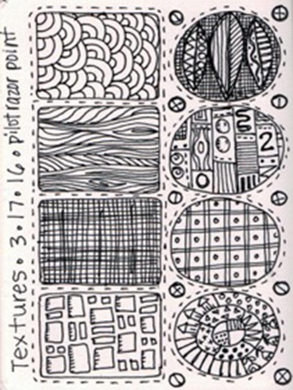 A Sketchbook Page by Jamie Fingal