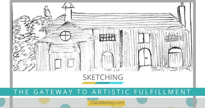Sketching: The Gateway to Artistic Fulfillment