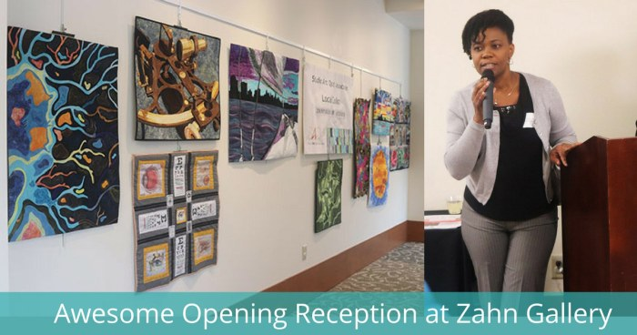 Awesome Opening Reception at Zahn Gallery