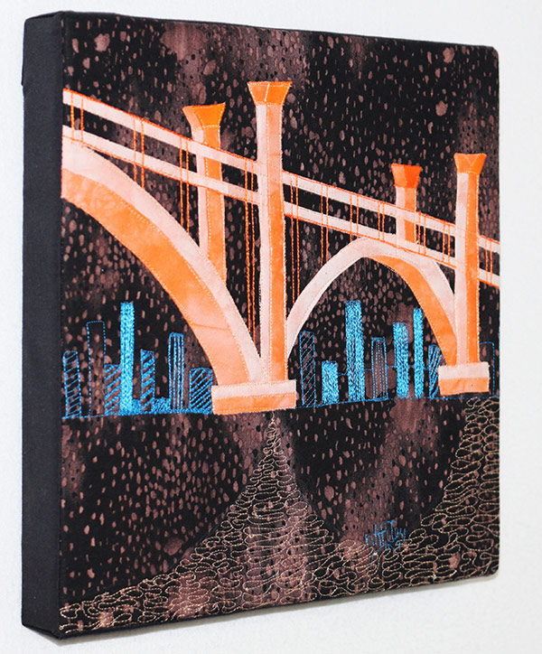 Contemporary Textile Art Shop | Buy Textile Art | Collect Clara Nartey | Textile Art Collector | Art Quilt Collector