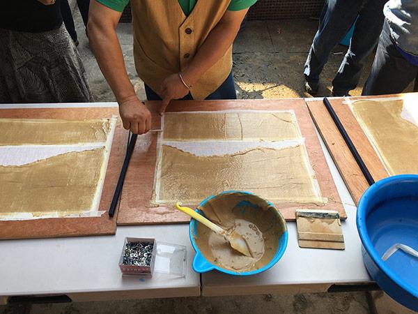 Indigo dye workshop | Korean Textiles Tour | Youngmin Lee