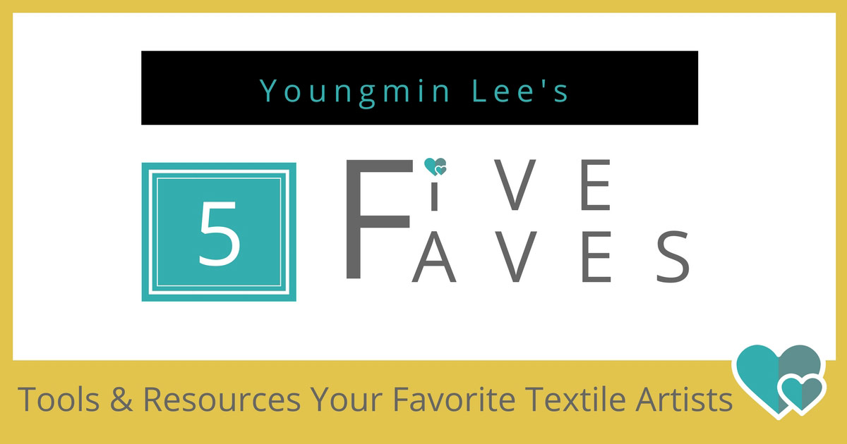 Youngmin Lee | Favorite Sewing Tools