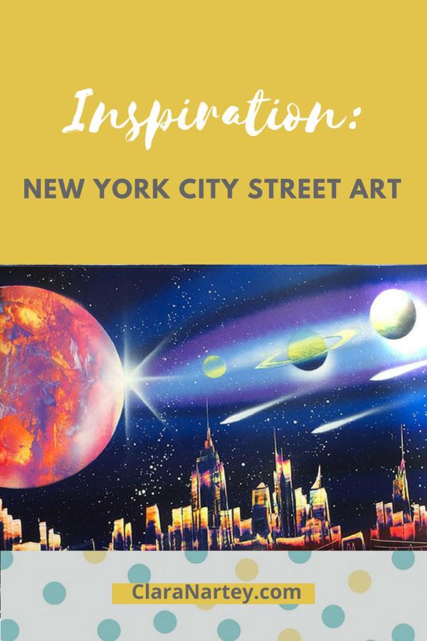 NY City Street Art | New York City Art | Art Inspiration | Textile Art Inspiration