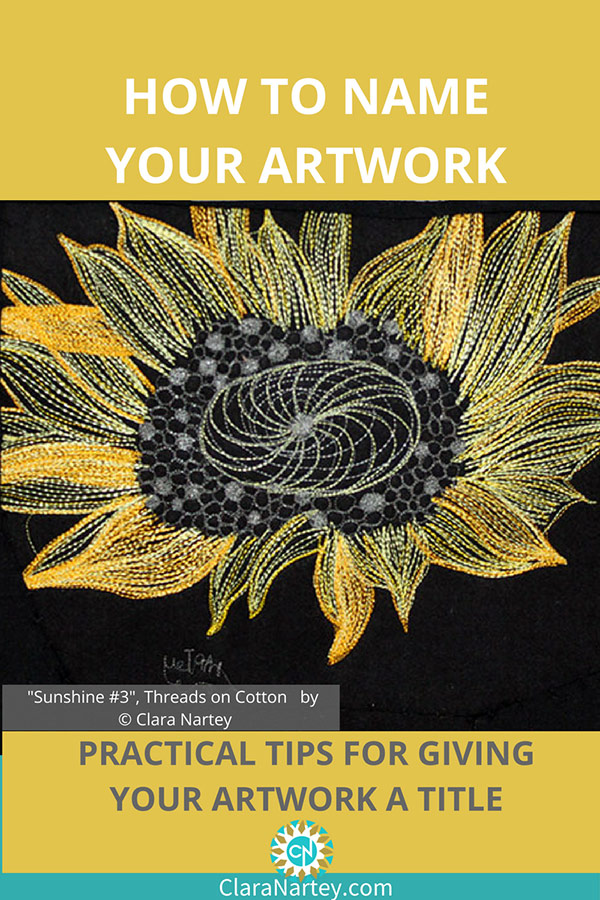 How to Name Your Artwork   Title Artwork  