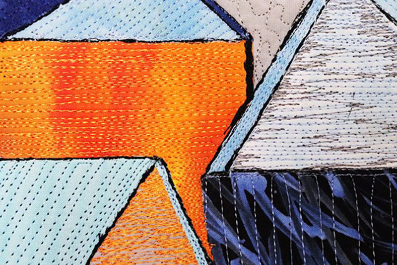 Textile Art Trends| Matchstick Stichling | by Clara Nartey