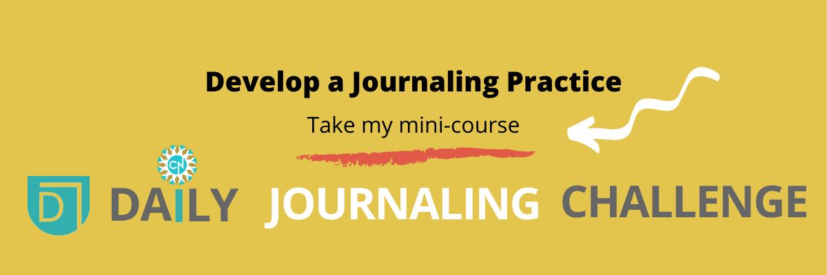 Writers Develop journaling practice