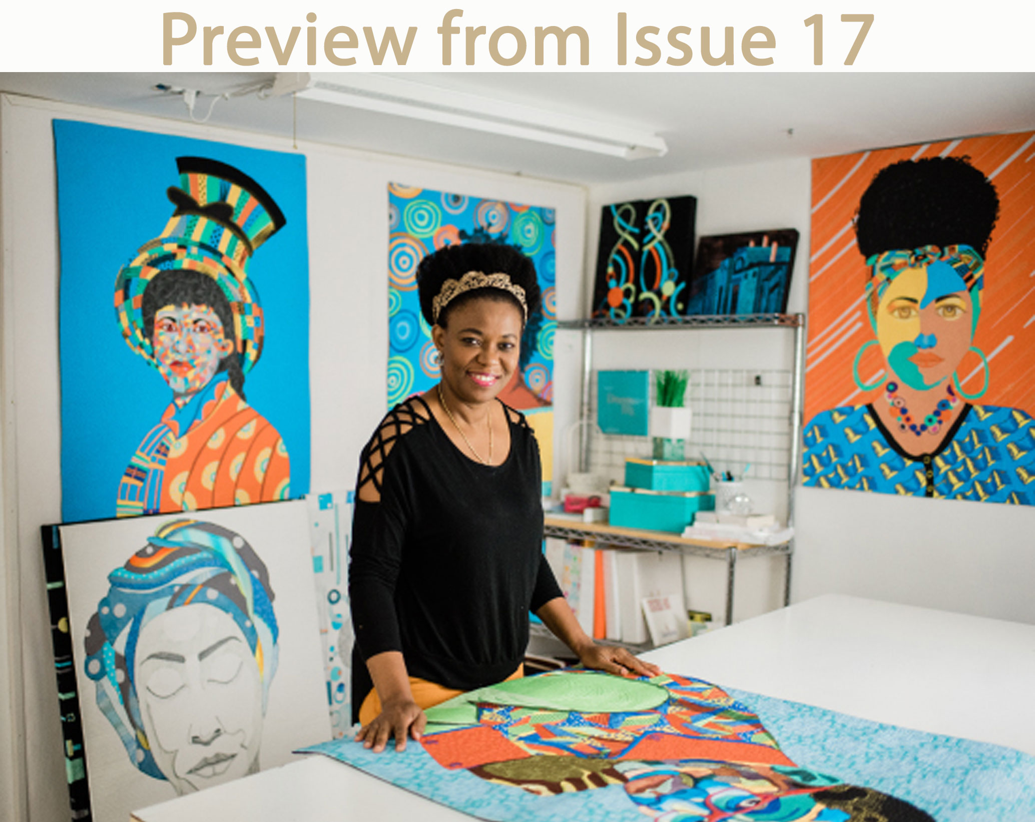 Clara Nartey| Art Studio | Quilt Room | Sewing Room
