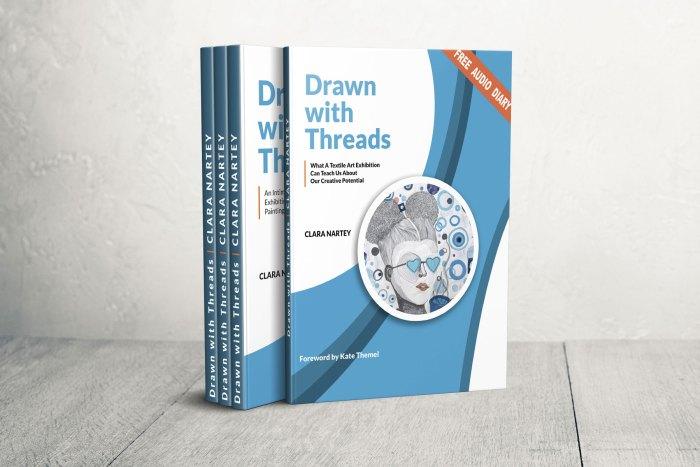 Artist Catalo, Drawn with Threads Catalog