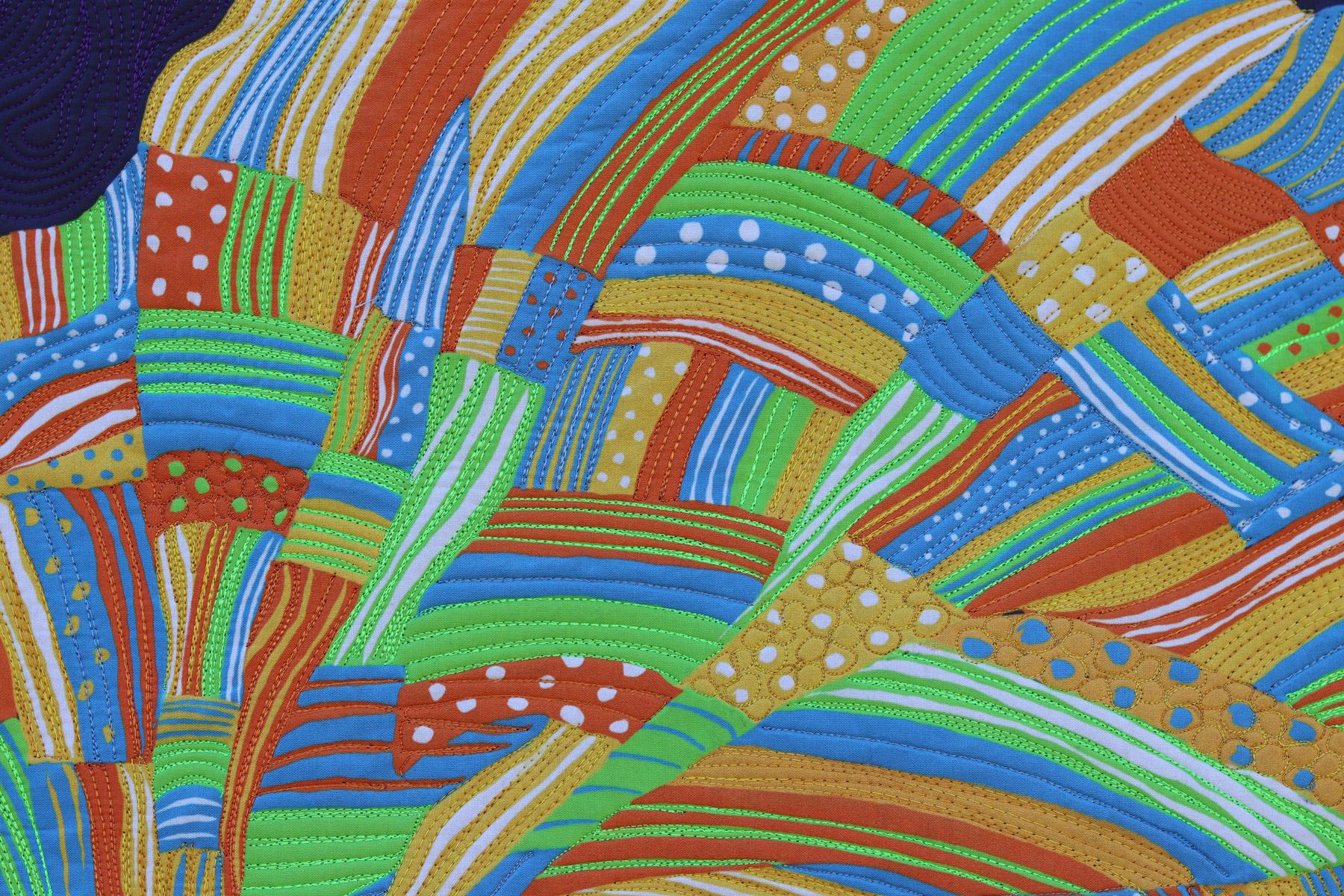 gele| headdress| fiber art | Textile Art