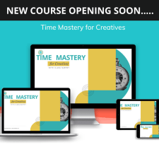 New Online Course: Time Mastery for Creatives
