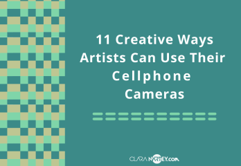 creative uses of cellphone cameras  Artists