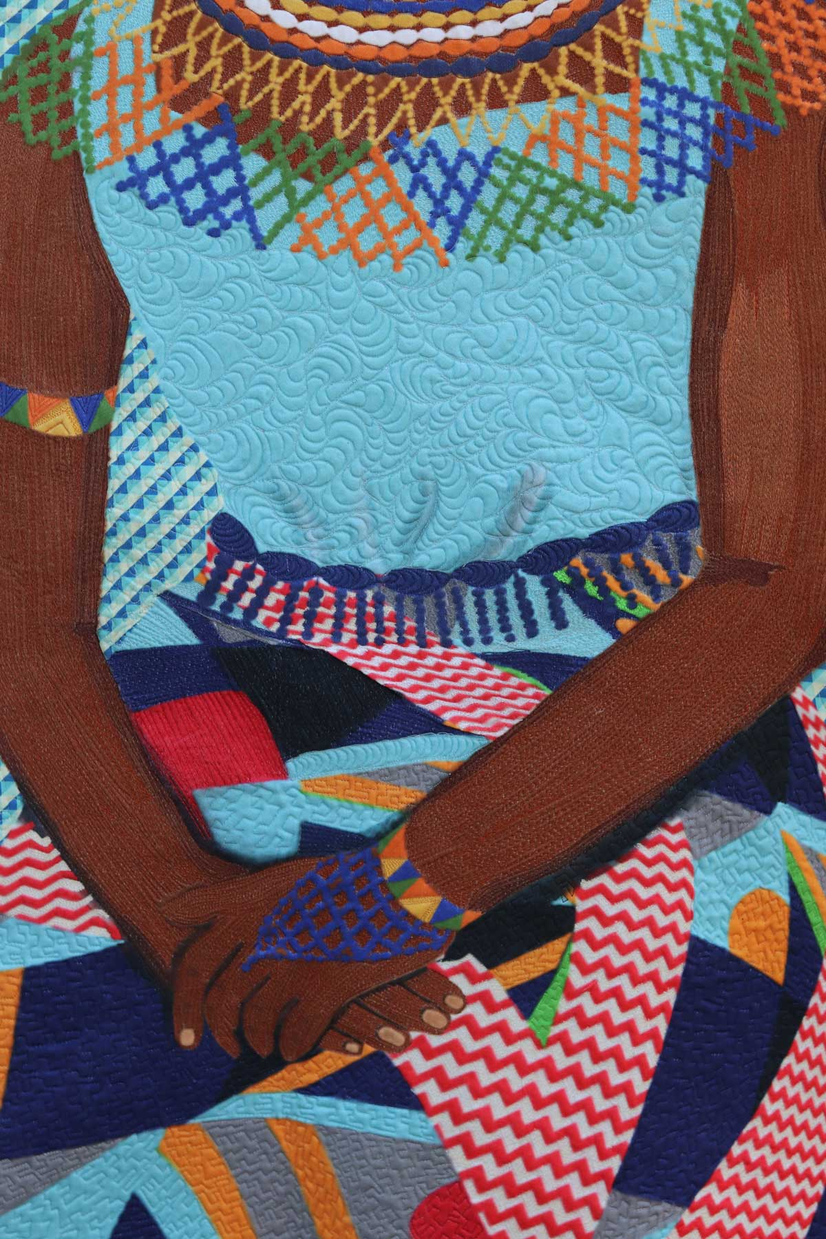 Amandla- Textile art| Fiber art| empowered Woman