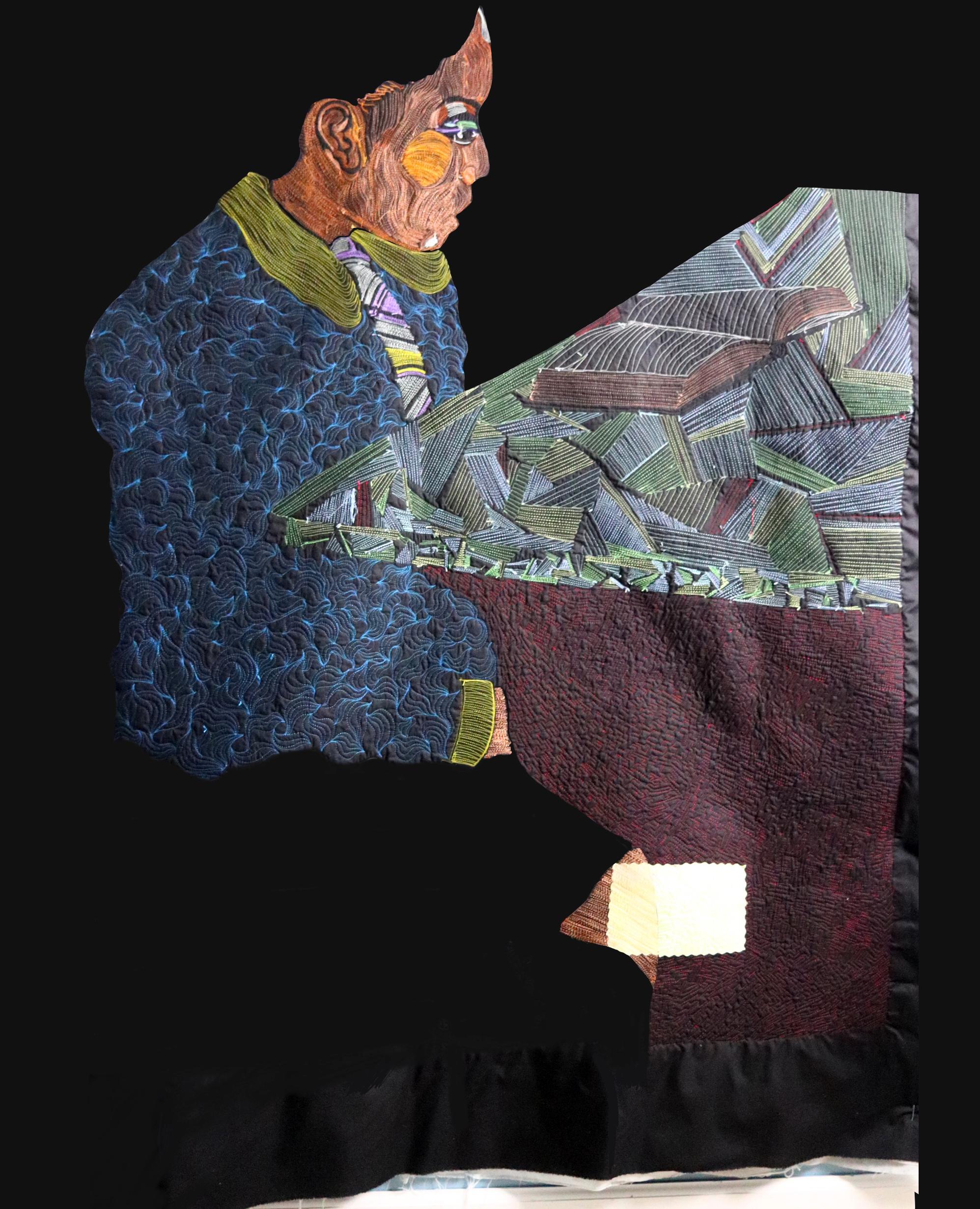 I am a Child | Work in Progress | Textile Art