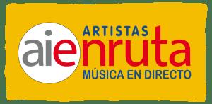 logo AIEnRUTa Artistas 2017 Fondo amarillo AR