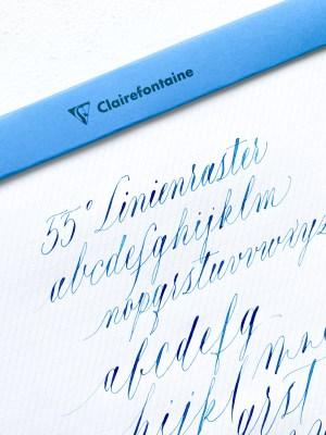PAScribe Kalligrafie Linienraster Block