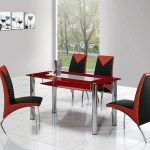 Rimini Large Glass Dining Table Decoration Designs Guide