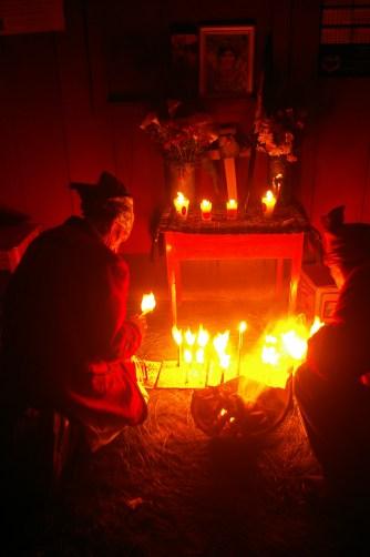 the altar. Nebaj, Guatemala | Clare McInerney
