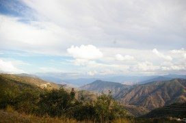 Los Cuchumanates, the mountain range that cradles the Ixil region of Guatemala in the Western Highlands