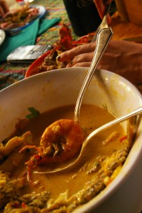 Traditional Tapado (spice, seafood, coconut milk soup) in Livingston, Guatemala | by Clare McInerney