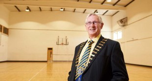 Cathaoirleach of Clare County Council Michael Begley. Photograph by John Kelly.