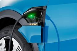 Irish e-trons will have a charging port on either side which are electrically operated.