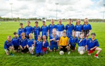 Carron/New Quay,Ballyvaughan/Fanore team following the Primary Schools Div 3 Football 11-Aside final at Kilrush. Photograph by John Kelly