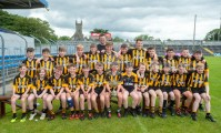 Victorious Ballyea NS following their Schools Division 2 final win at Cusack Park. Photograph by John Kelly