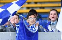 Kilkee/Kilbaha fans during their Munster Championship game at Walsh Park. Photograph by John Kelly