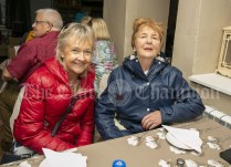 230819 L-R Helen Crowley, Kilrush and Marcella Cahill, Mountshannon, in The Inis Oir Hotel during the RNLI fund raising cruise to the Cliffs of Moher and Inis Oir with Doolin2Aran Ferries Star of Doolin on Friday evening.Pic Arthur Ellis.