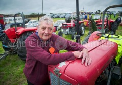 Kilmurry Mc Mahon's Brendan Price brought his 1959 TVO Massey Ferguson 35 to the vintage section at Kildysart Show. Photograph by John Kelly