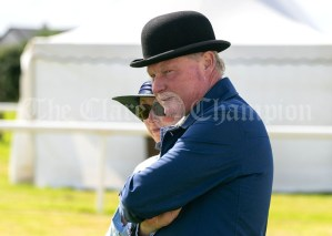 310819 Judges Tiernan Gill and Wendy Conlon at Clarecastle Show on Saturday.Pic Arthur Ellis.