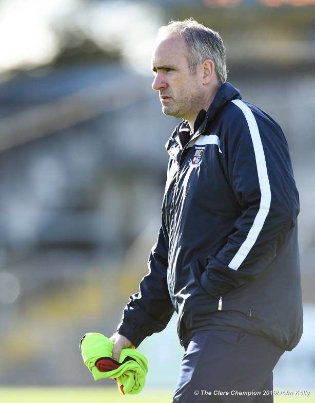 David O Brien, Miltown manager, before their senior football county final replay at Cusack Park. Photograph by John Kelly.