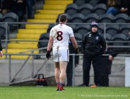 Liam Tierney of St Breckan's is sent to the sideline during their Munster Club Intermediate final against Templenoe at Mallow. Photograph by John Kelly