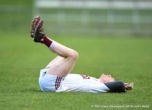 A devastated Aidan Davidson of St Breckan's following their Munster Club Intermediate final against Templenoe at Mallow. Photograph by John Kelly
