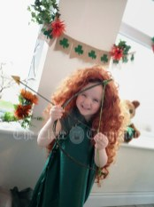 Bebhinn McGrath age 4, Doolough, Co. Clare
