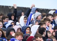 St Flannan's fans before their Harty Cup final against CBC Cork at Mallow. Photograph by John Kelly