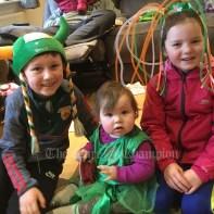 James, Emily and Méabh Coffey, Caherlohan