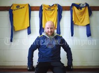Shane Keegan, manager of the Clare Oscar Traynor team during preparations for their quarter final against Wexford at Frank Healy Park. Photograph by John Kelly