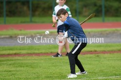 Tommy Healy from Sixmilebridge-Kilmurry competing in the Boys U12 Long Puck event. Photography by Eugene McCafferty