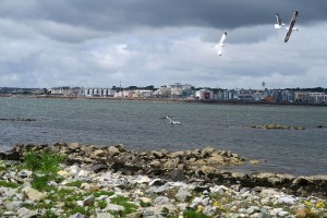 Salthill as seen from Mutton Island
