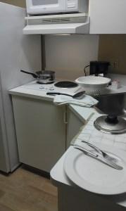 Dinner or fire?