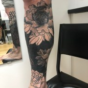 Work in Progress- Cover Up Leg