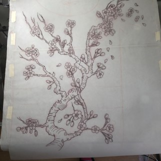 Cherry Blossom ( sakura full back piece)