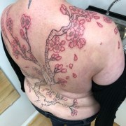 Work in Progress - Cherry Blossom Top