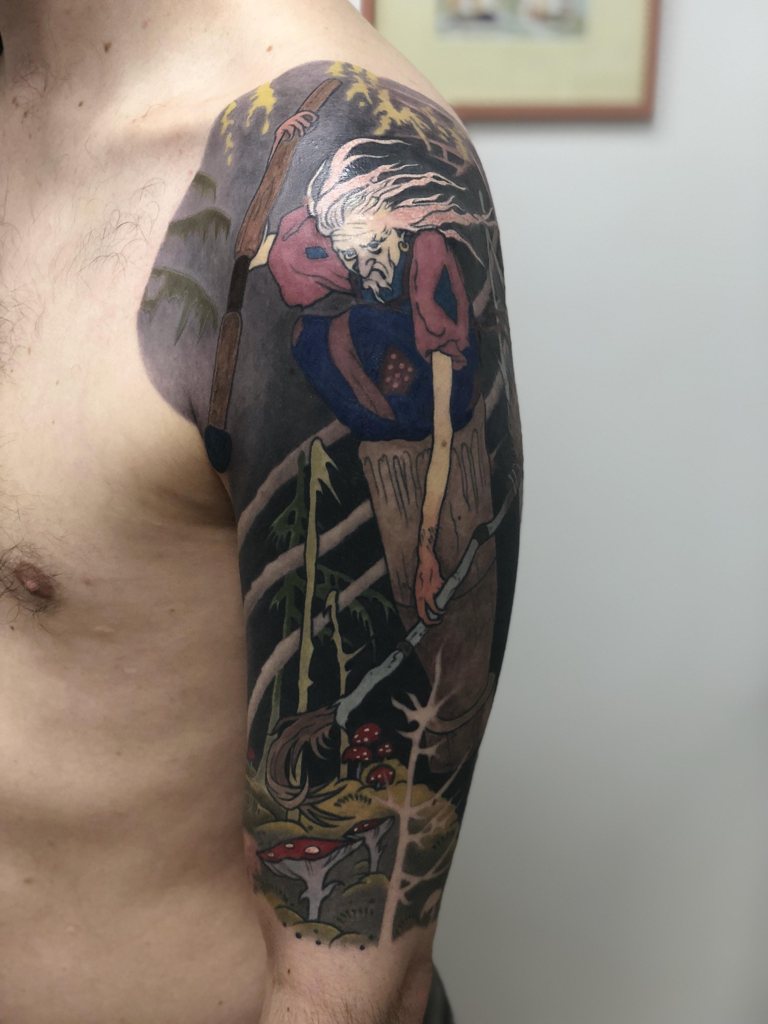 Baba Yaga Tattoo
