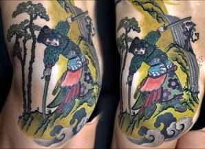 Onna Bugeisha tattoo