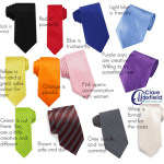 What the colour of your tie means