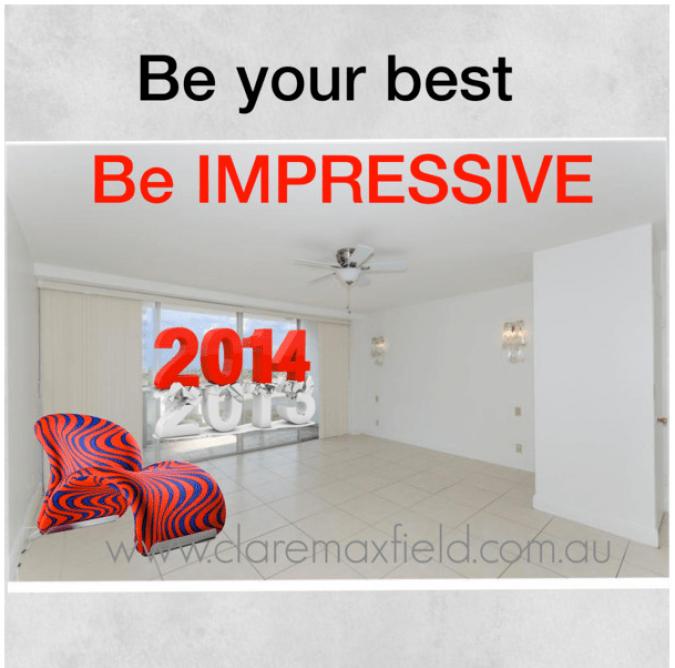 Be impressive