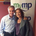 Clare on 3MP with Glen Ridge discussing Ansett